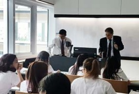 Law Lesson at Mahidol University